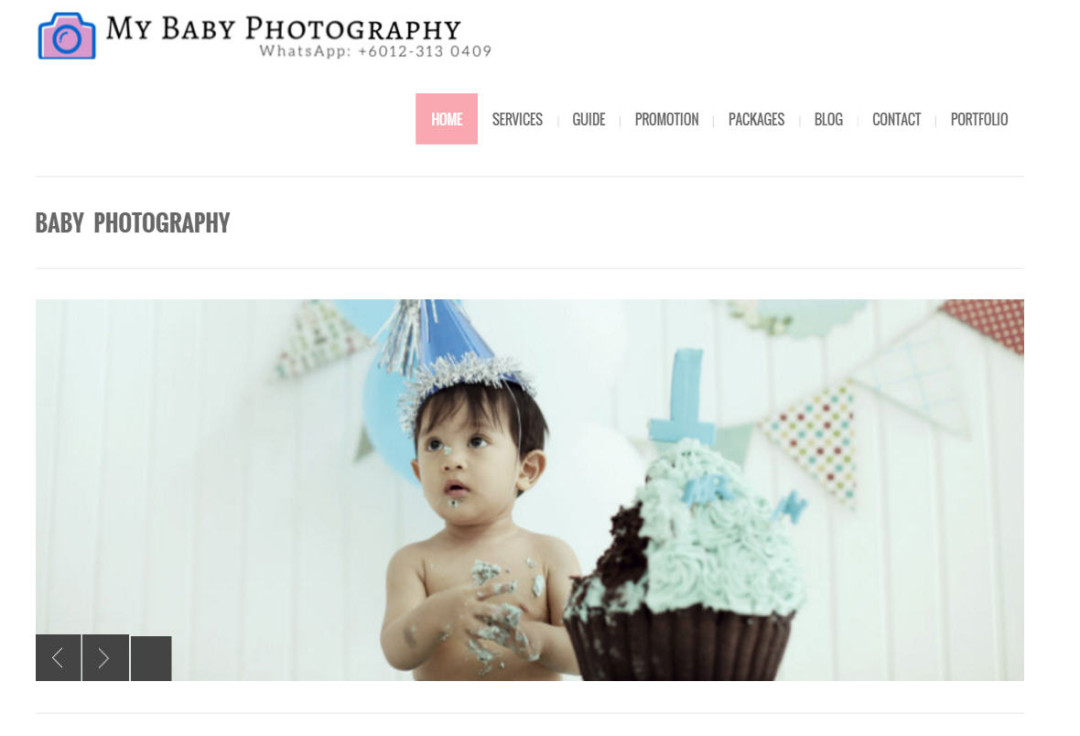 My Baby Photography